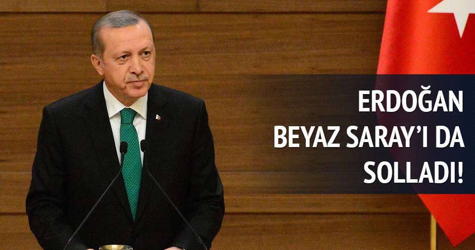 Erdoğan Beyaz Saray'ı da geçti