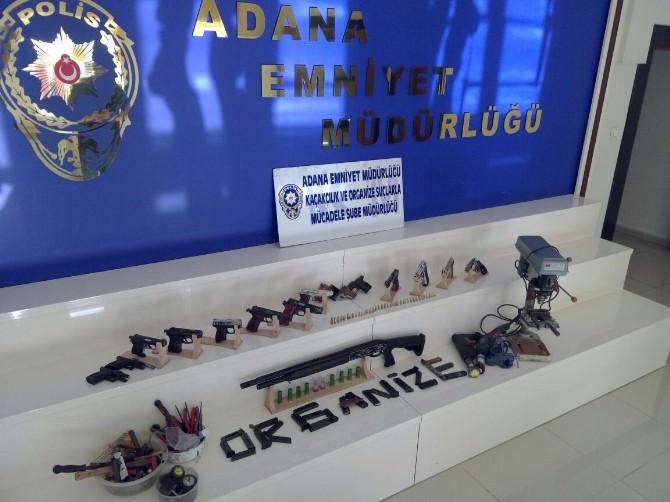 Adana'da Kaçak Silah Operasyonu