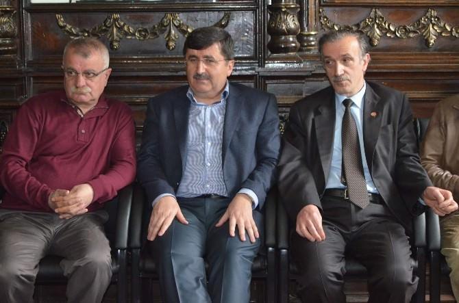 Vali Abdil Celil Öz, Gazeteciler Cemiyeti'nde Konuştu