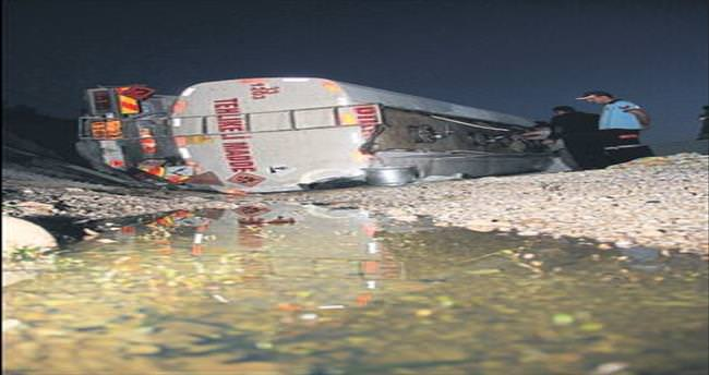 Tanker kazasında facia ucuz atlatıldı
