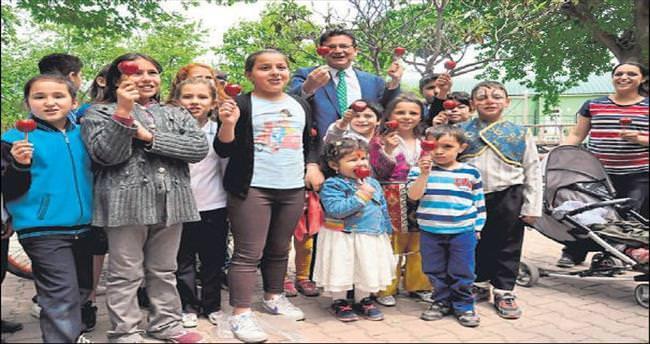 AK Partili Uslu çocukları kırmadı