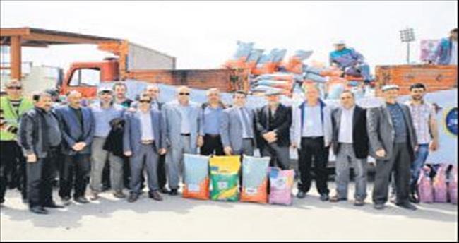 Duruay'dan Büyükşehir'e tohum teşekkürü