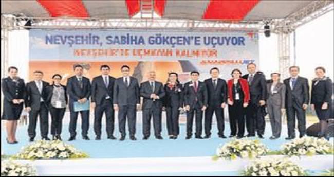 Anadolujet İstanbul'u Nevşehir'e bağladı