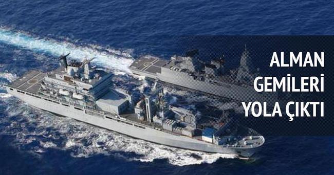 Alman gemileri yolda
