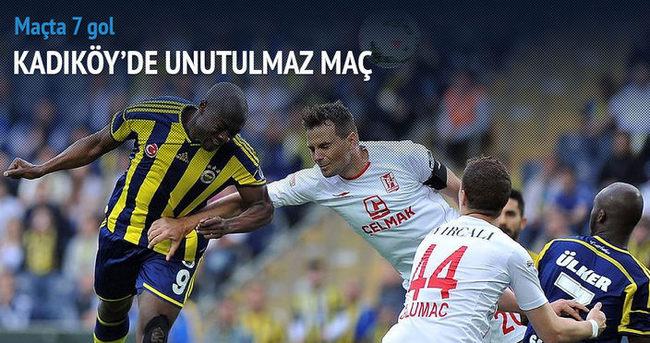 Fenerbahçe zirveye kondu