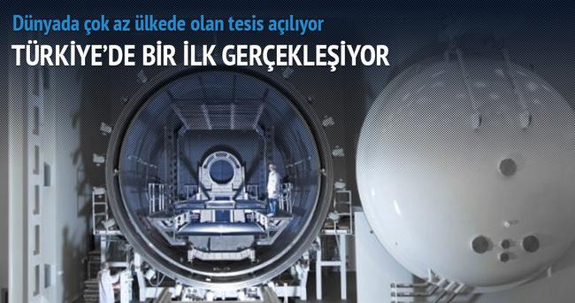 Türkiye'nin ilk uydu merkezi açılıyor