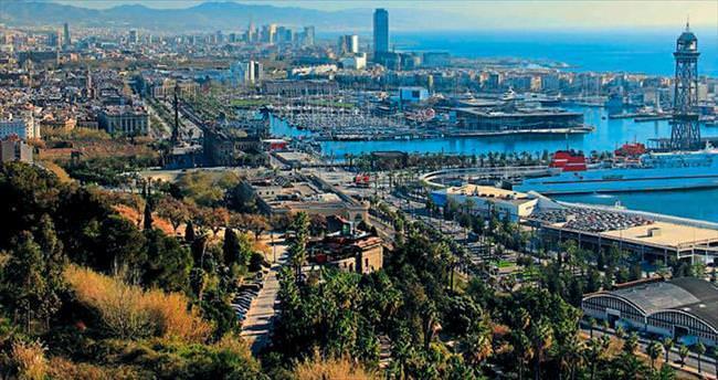 Uyumayan şehir Barselona