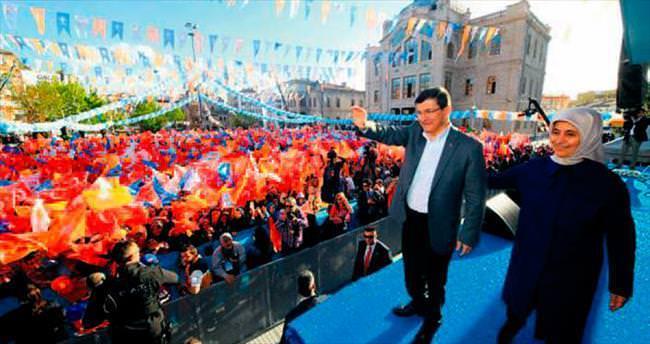 AK Parti mitingi 16 Mayıs'ta