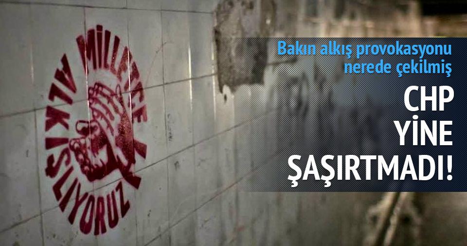 CHP'nin reklamı Paralel yapının üniversitesinde çekilmiş
