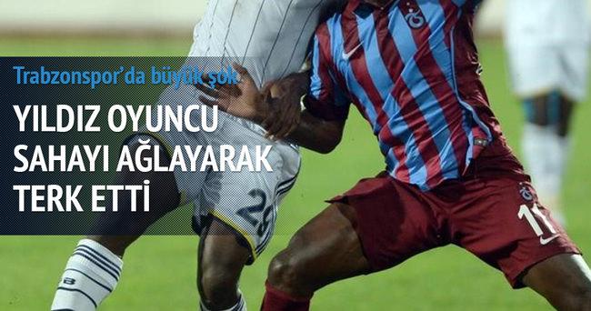 Trabzonsporlu yıldız ağladı! Yanal çıldırdı