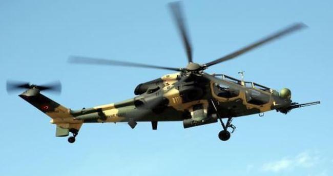 ATAK helikopterleri kritik göreve başladı