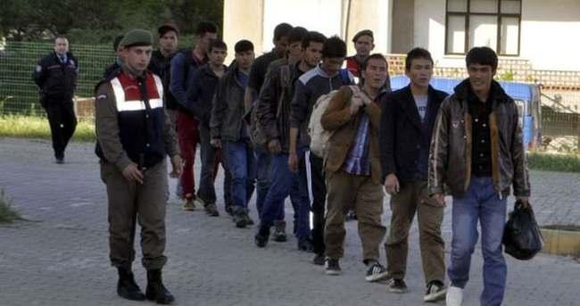 Ege Denizi'nde 71 kaçak yakalandı
