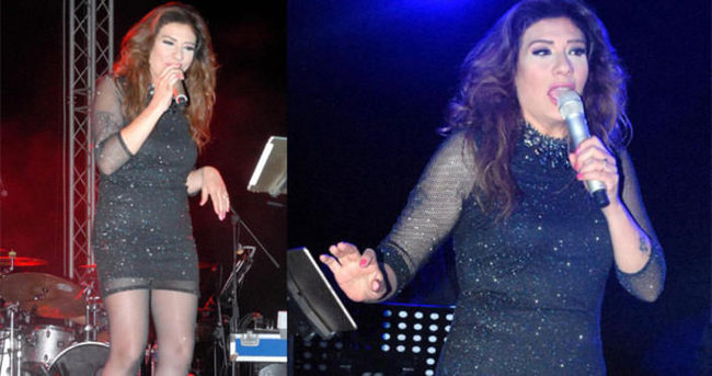 Işın Karaca'dan mini etekli konser
