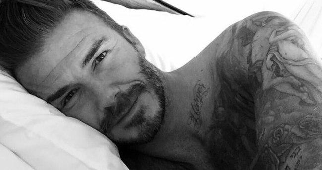 David Beckham Instagram'a katıldı