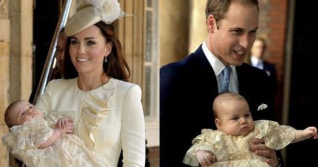 Ve 'kraliyet bebeği'nin ismi açıklandı