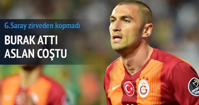 Galatasaray Akhisar deplasmanında zorlanmadı