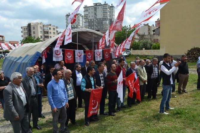 Milli İttifak Kozan'da Adaylarını Tanıttı