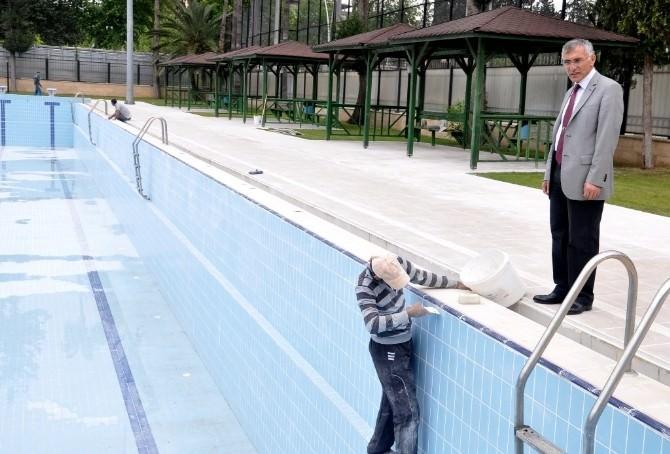 Yüzme Havuzları Bu Ay İçinde Hizmete Girecek