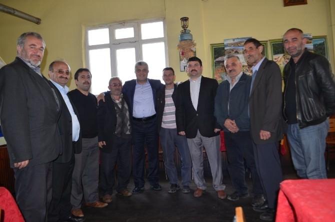 AK Parti Trabzon Milletvekili Adayı Günnar, Akçaabat'ı Arşınladı