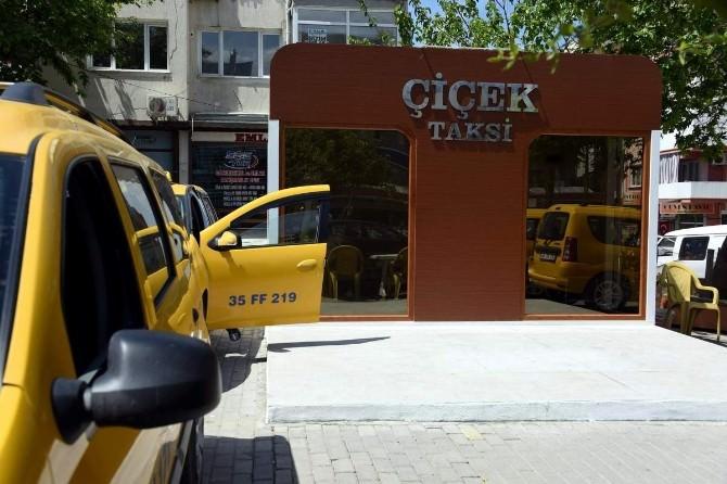 Aliağa'da Taksi Durakları Yenileniyor