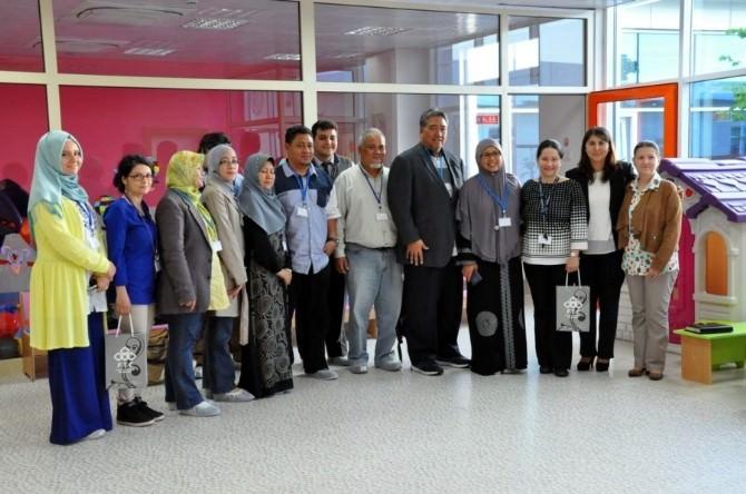 Malezya'dan ÇOMÜ Kreşe Ziyaret