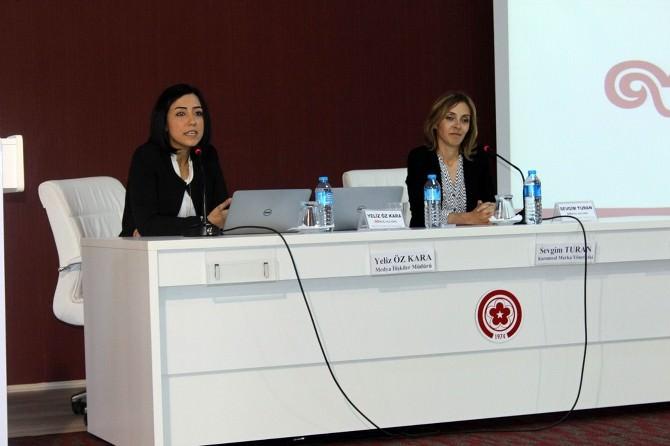 CÜ İletişim Fakültesi Öğrencilerine Marka İletişimi Anlatıldı