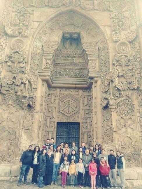 CÜ Öğrencileri Divriği Ulu Cami'ni Ziyaret Etti