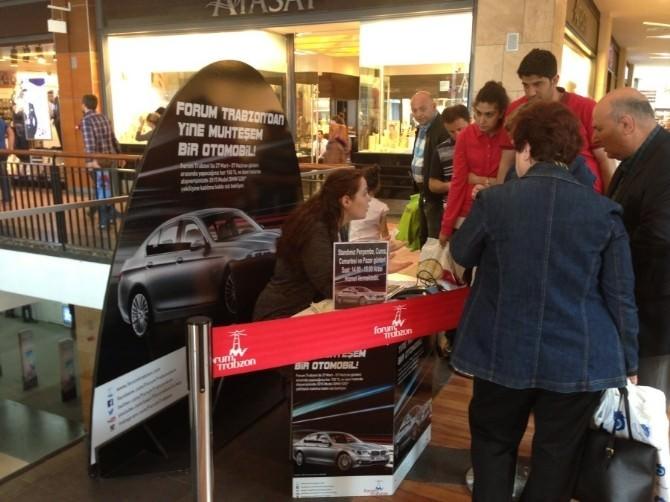 Forum Trabzon'un Bmw520i Kampanyası Büyük İlgi Görüyor