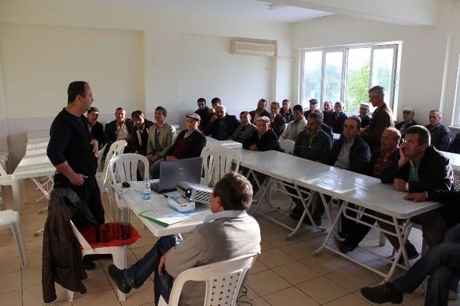 Maavgat'ta Çiftçilere Eğitim