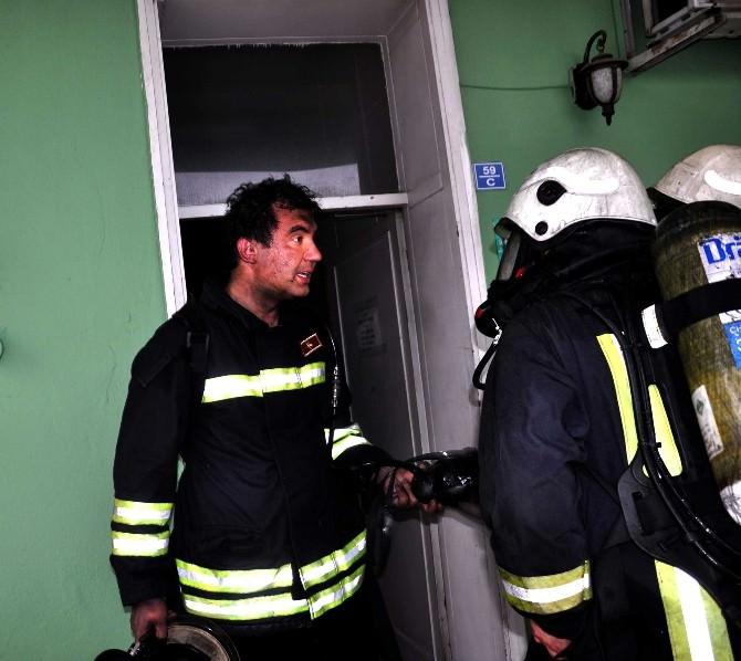 FİSKOBİRLİK Genel Müdürlüğü'nde Yangın Paniği