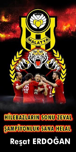 Yeni Malatyaspor'un, 2. Lig Beyaz Grupta Şampiyon Olması