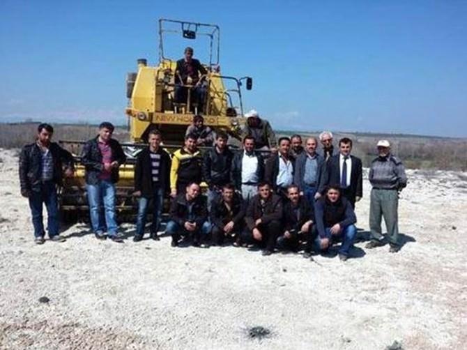 Beyşehir'de Biçerdöver Operatörlerine Eğitim