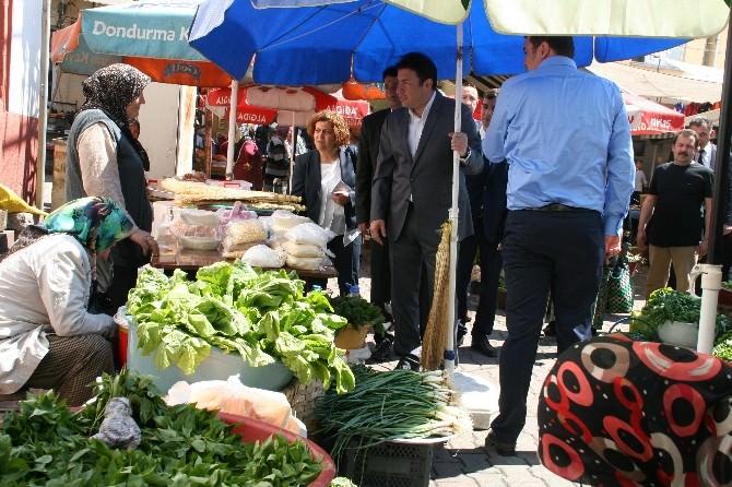 Özcan Ulupınar'dan Pazar Ziyareti