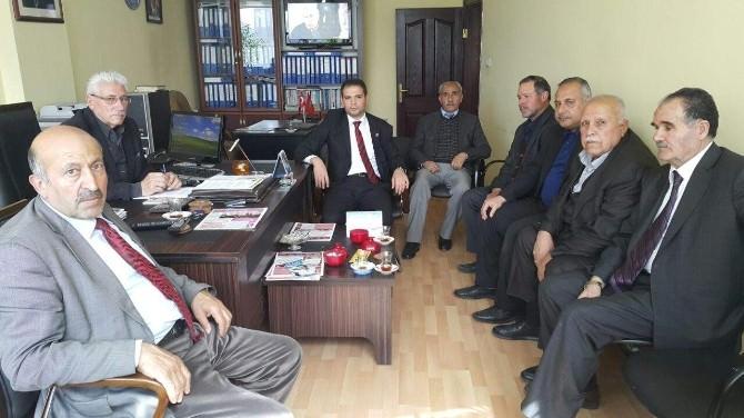 Saadet Partisi'nden Emekliler Derneği'ne Ziyaret