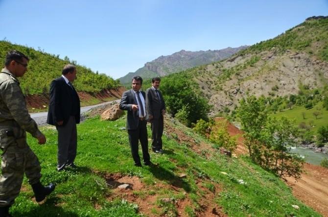 Şemdinli Kaymakamı Öztürk'ten Köy Ziyaret