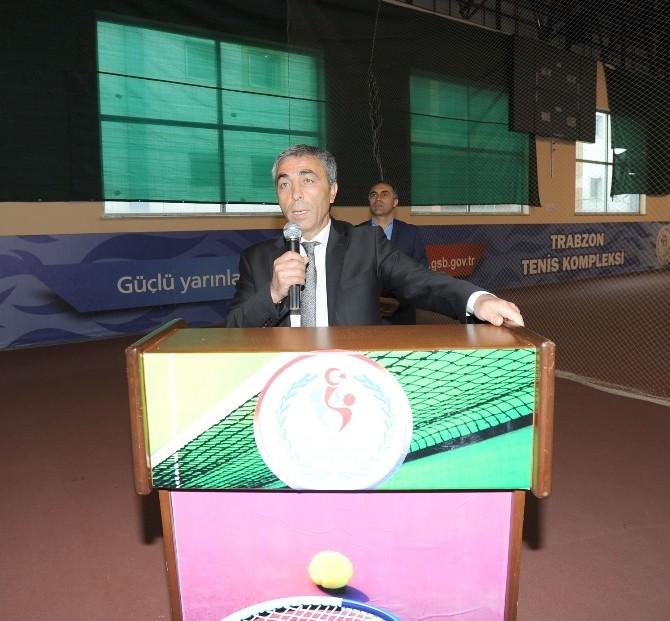 Okullararası Yıldızlar Türkiye Tenis Şampiyonası Başladı