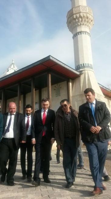Türk Parti Genel Başkanı Özgüç, Erzurum'da Ziyaretlerde Bulundu