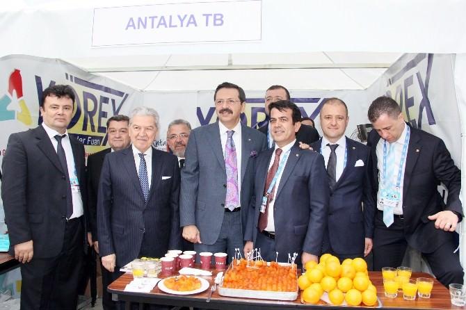 TOBB Genel Kurulu'nda Antalya Tanıtımı