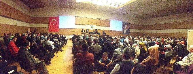 Prof. Dr. Nevzat Tarhan Kayseri'de Ailede İletişim Sorunlarını Anlattı