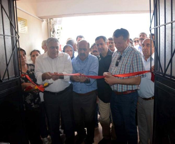 Helvacı'da Cemevi İbadete Açıldı