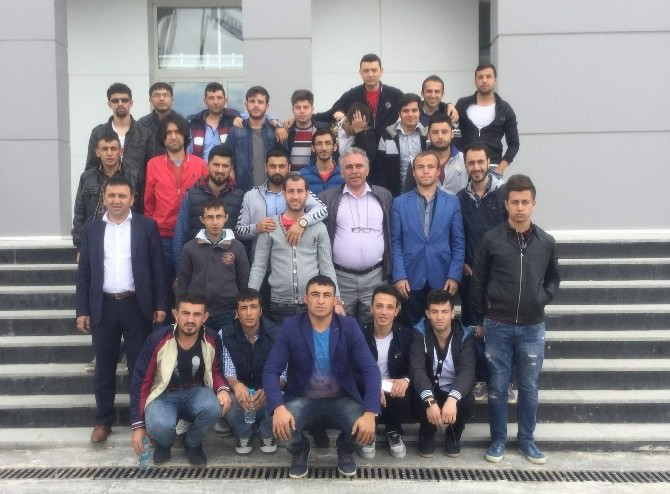 Bozok Üniversitesi MYO Öğrencileri Teknolojiyi Yakından Takip Ediyor