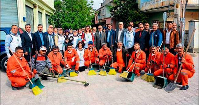 Osmaniye'de gönüllü temizlik kampanyası