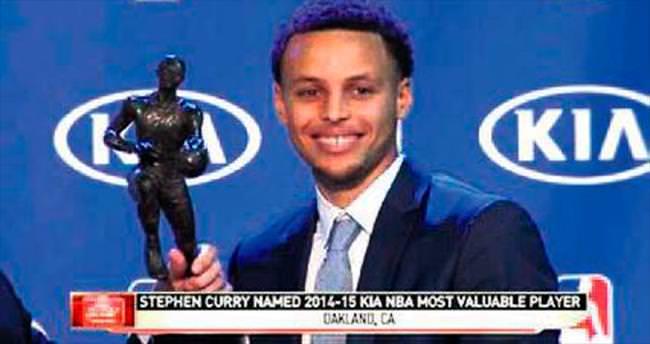 NBA'in yeni kralı Curry