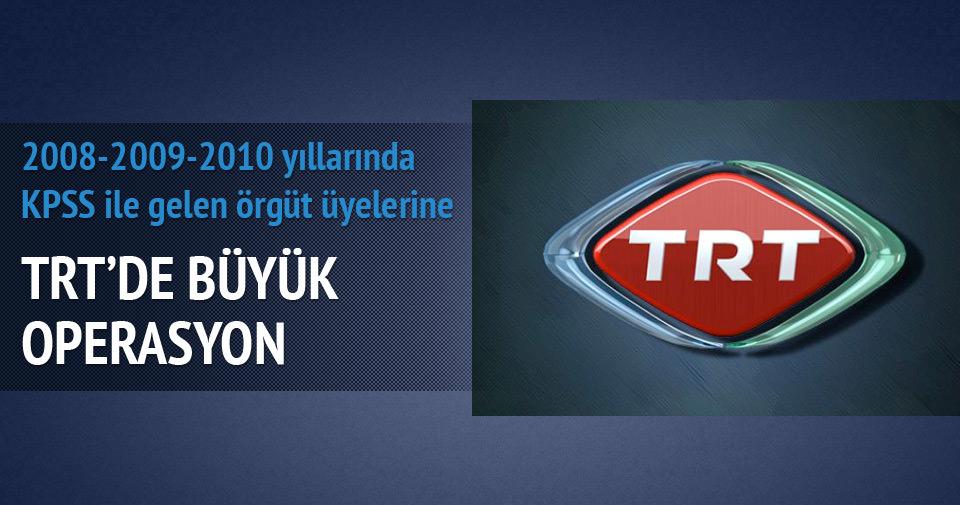 KPSS operasyonunda 4 TRT çalışanı tutuklandı