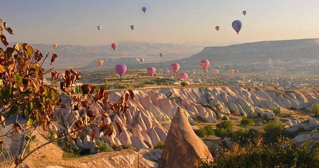 Turizm cenneti Türkiye'nin turist haritası