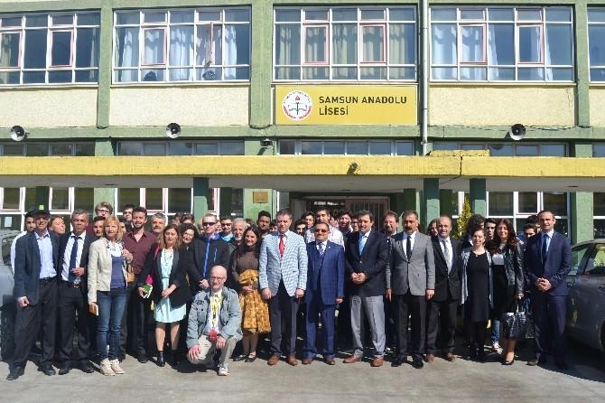 """""""Comenius Projesi"""" Yabancı Öğretmen Ve Öğrencileri İlkadımda"""