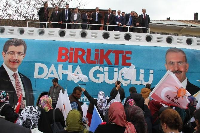 AK Parti Den Seçim Bürosu Açılışı