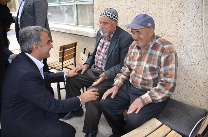 AK Parti Milletvekili Adayı Ağralı Hadim Ve Taşkent'te