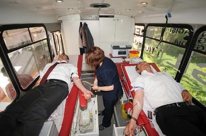 Batman Milli Eğitim Müdürlüğü'nden Kan Bağışı Kampanyası