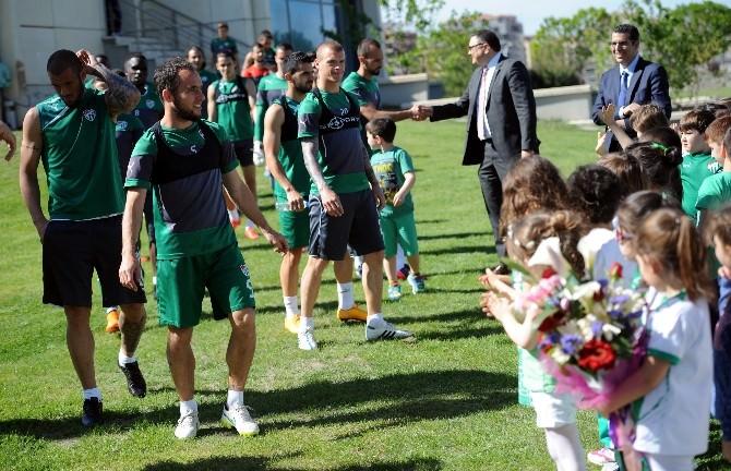 Bursaspor, Karabükspor Maçı Hazırlıklarına Başladı
